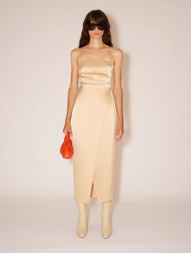 Slip šaty, Nanushka, 625 EUR