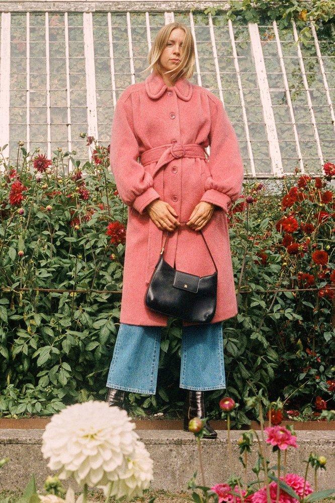Kabát s límečkem, Rouje Paris, 330 EUR
