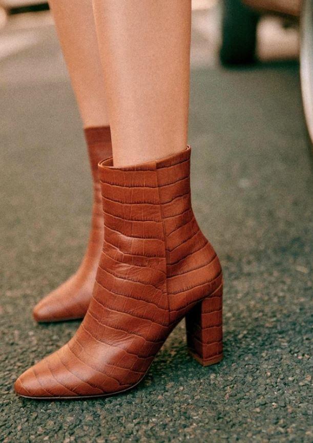 Kotníčkové boty, Sézane, 200 EUR