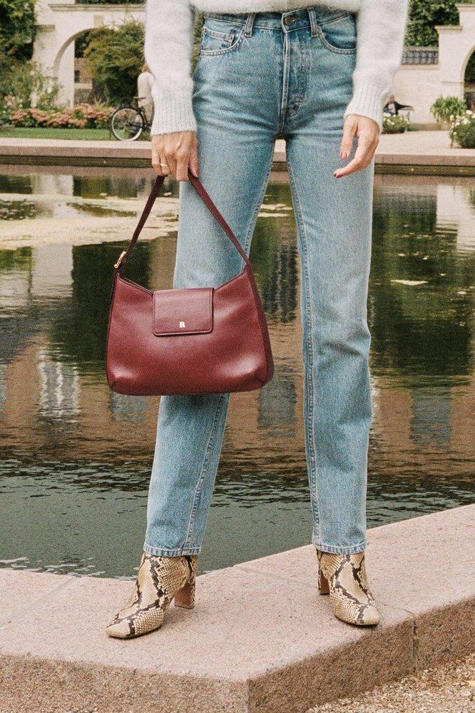 Kožená kabelka, Rouje Paris, 320 EUR