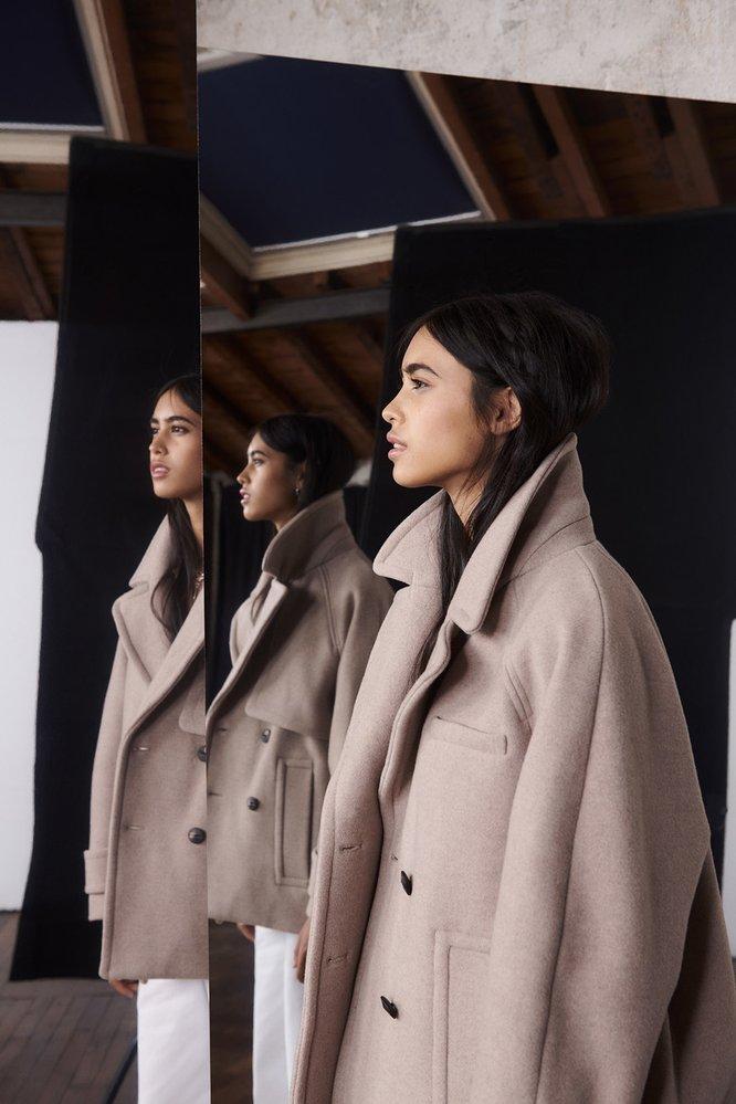 Krátký kabát, Ba&sh, 450 EUR
