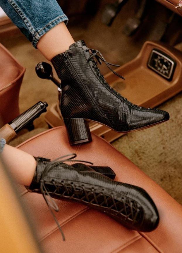 Šněrovací boty, Sézane, 195 EUR