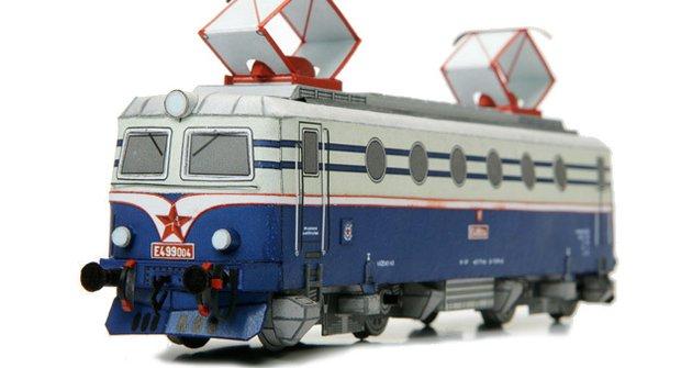 BOBINA - Elektrická lokomotiva E499.0