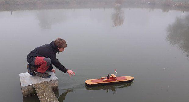 Postavte si plovoucí 3D model lodi! A pošlete ho do naší soutěže