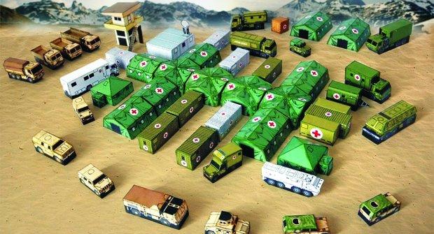 Honzovy vojenské modely (nejen) z ábíčka