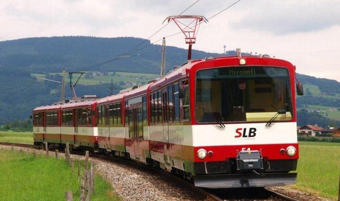 Modernizovaný vlak pro Salcburk