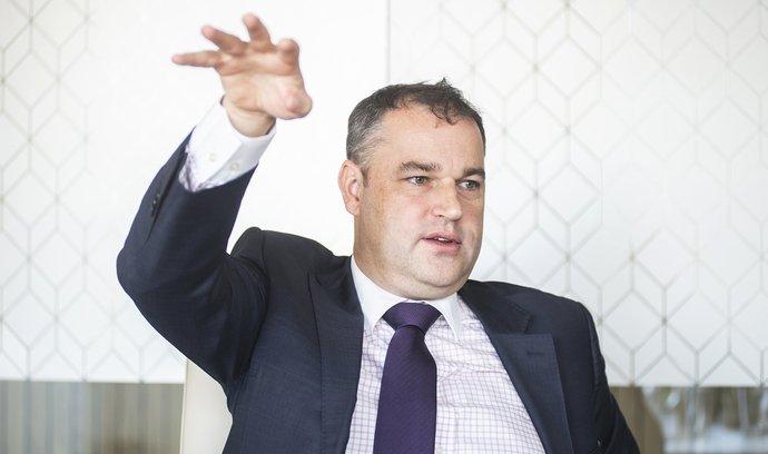 Šéf poradenských služeb KPMG pro finanční sektor Mojmím Hampl.