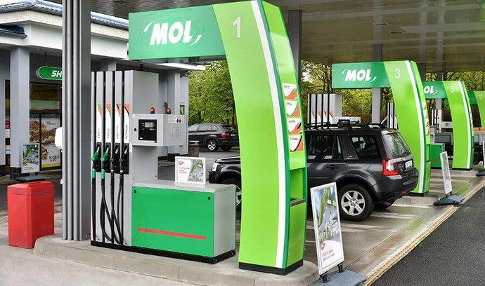 MOL pokračuje v přestavbách svých čerpacích stanic