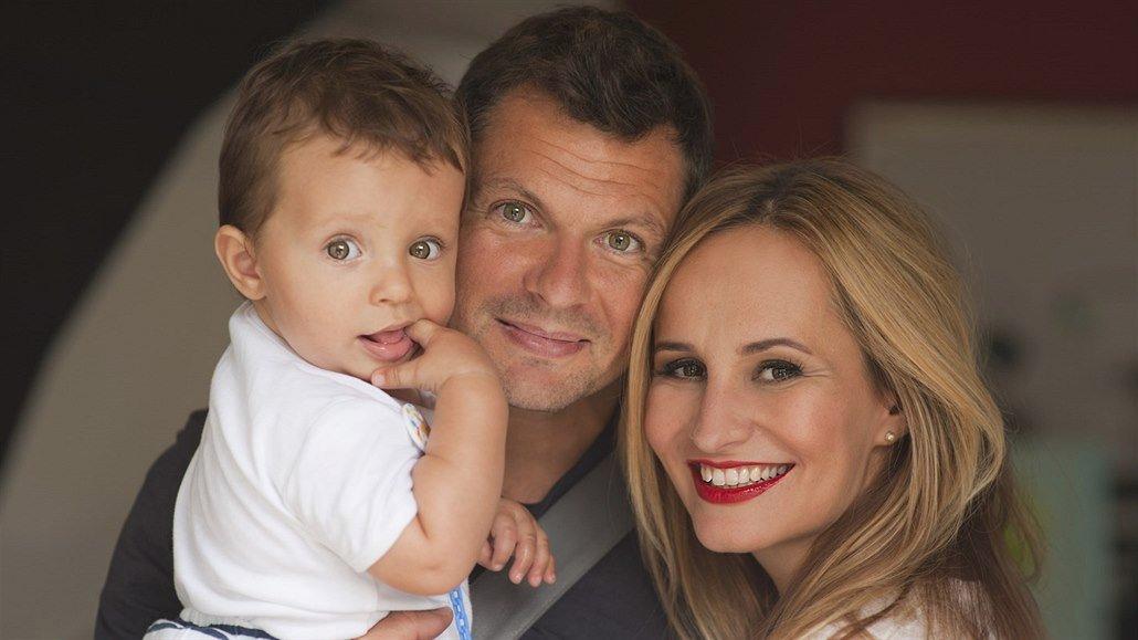 Monika se těší s partnerem Tomášem Hornou na další přírůstek do rodiny.