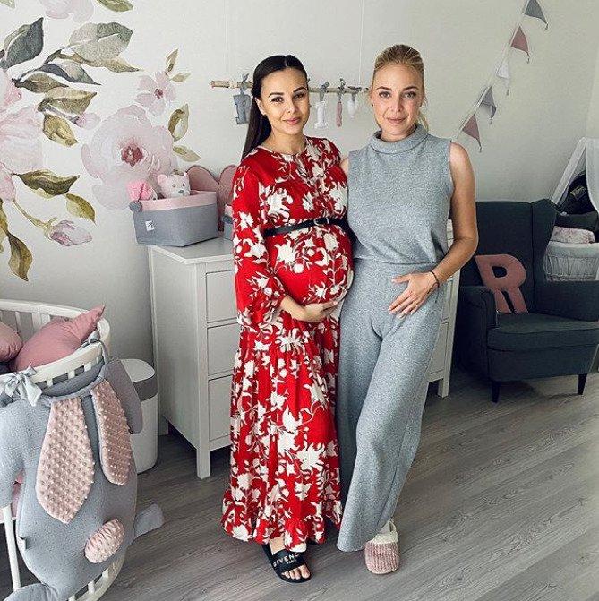 Krátce před porodem se Monika setkala s Markétou Konvičkovou