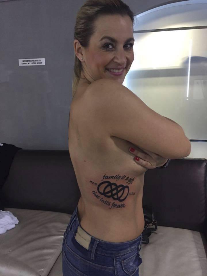 Monika Marešová se pochlubila dalším tetováním