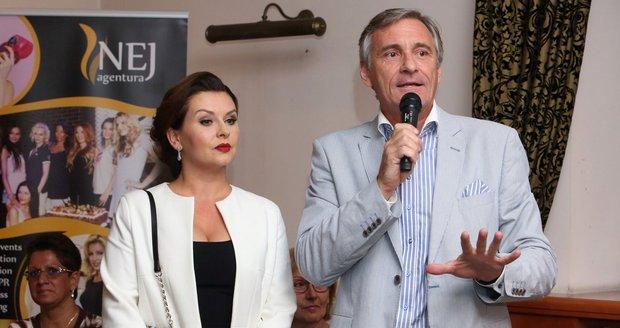 Dana Morávková a Jan Čenský