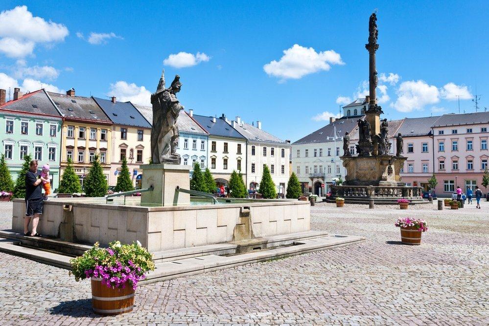Moravská Třebová, Náměstí T.G. Masaryka