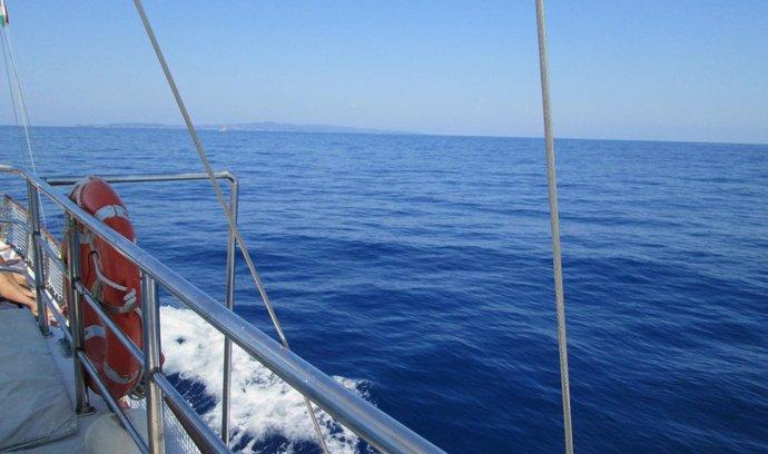 Moře je měňavé, každou vteřinu jiné