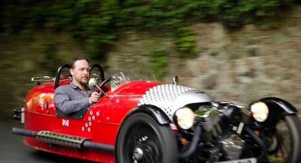 O kolečko méně: Vozítko Morgan 3 Wheeler (Testovali jsme!)