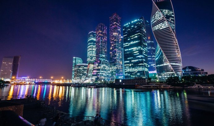 Moskva, mrakodrapy