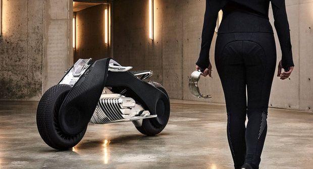 Vize budoucnosti BMW: Motorka, ze které nespadnete
