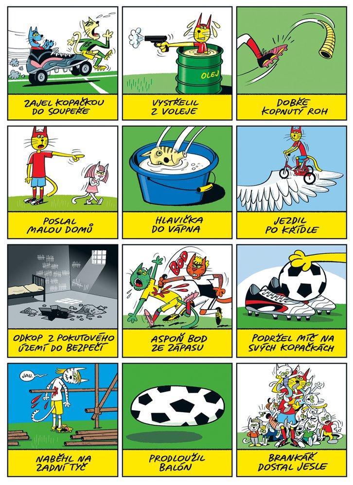 Mourrison: Fotbalová frazeologie