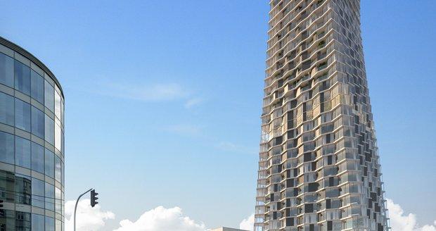 Nová podoba mrakodrapu Ostrava Tower. Budova bude po dokončení nejvyšší v republice.