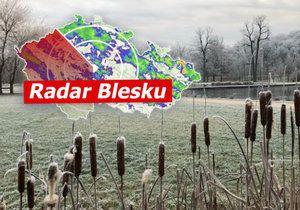 Mráz v Česku (ilustrační foto)