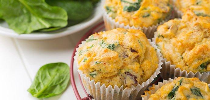 5 receptů na slané muffiny