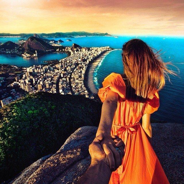 Z dob před karanténou:  Fotograf následuje přítelkyni po celém světě