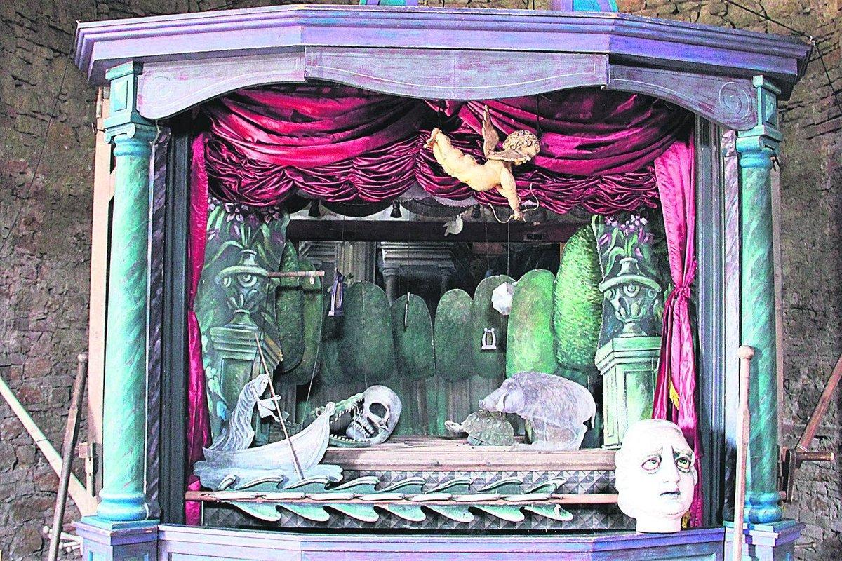 O loutkové divadlo projevil zájem D. Copperfield