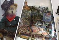 Muzeum starých hraček znovu otevřelo. Okouzlí roztomilými unikáty, filmovými hrdiny i historií