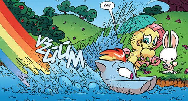 Výherci soutěže o komiksy My Little Pony