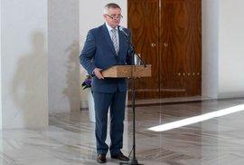 Prezident Mynář pověří sestavením vlády Nejedlého s Ovčáčkem