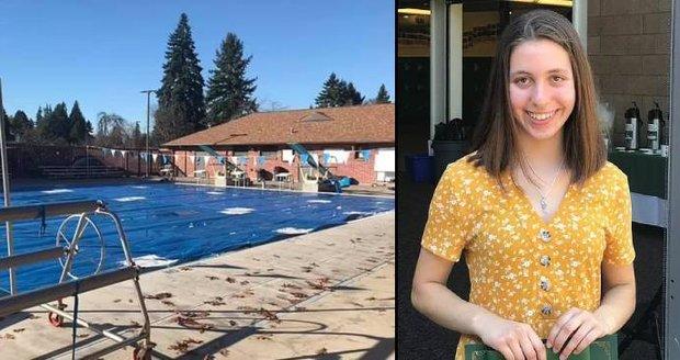 Studentku (†14) spolužáci omylem uvěznili pod plachtou v bazénu: Rodina za její smrt žádá přes miliardu