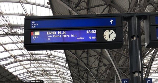 Hlavní nádraží Praha.