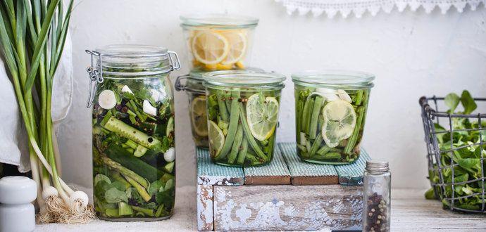Nakladaná zelenina – zdroj vitamínov na celý rok