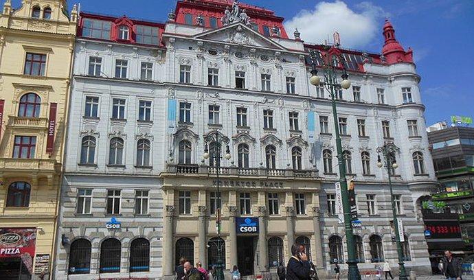 Palác v Praze na náměstí Republiky