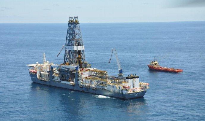 Námořní průzkum ložiska zemního plynu (ilustrační foto)