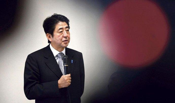 Nastupující japonský premiér Šinzó Abe
