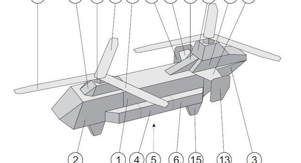 Vojenská technika: Vrtulník