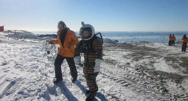 Skanafandry určené pro kolonizaci Marsu byly prozkoušeny v Antarktidě