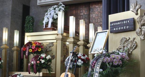 Pohřeb Františka Nedvěda