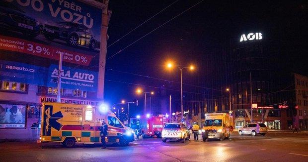 V sobotu večer došlo v Holešovicích k tragické nehodě.