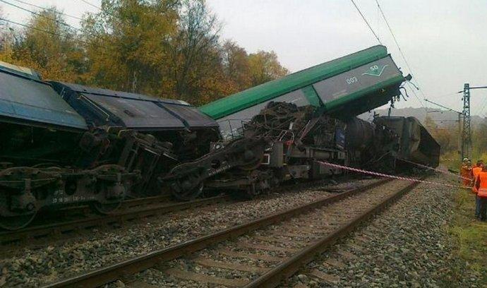 Nehoda vlaku, ilustrační foto