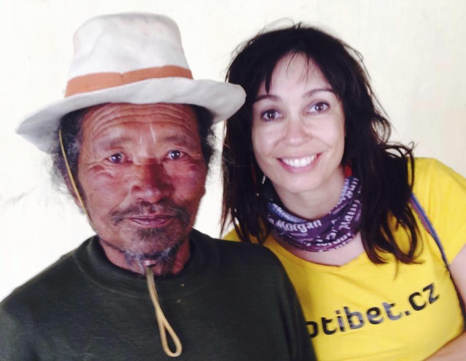 Nela Boudová si užívala v Barmě.