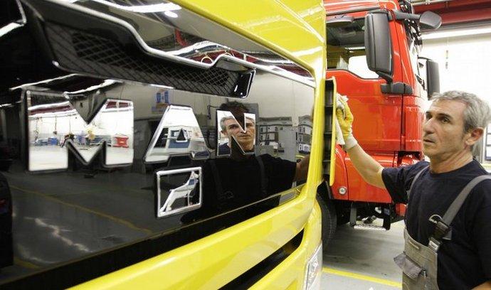 Německá automobilka Volkswagen získala v 55,9 procenta ve výrobci nákladních automobilů MAN.