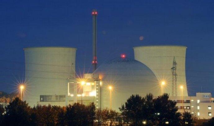 Německá jaderná elektrárna Biblis