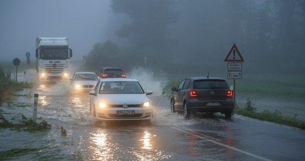 Německo je pod vodou, zemi zasáhly velmi silné bouřky (15. 7. 2021)