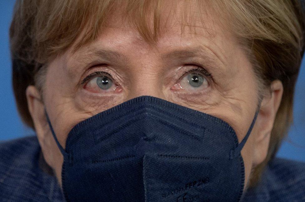 Německá kancléřka Angela Merkelová (srpen 2021)
