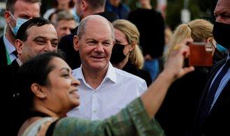 Německé volby online: Podle prvních odhadů zvítězili sociální demokraté Olafa Scholze