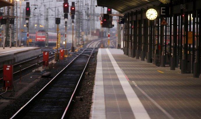 Německou železnici opět zasáhla stávka strojvůdců