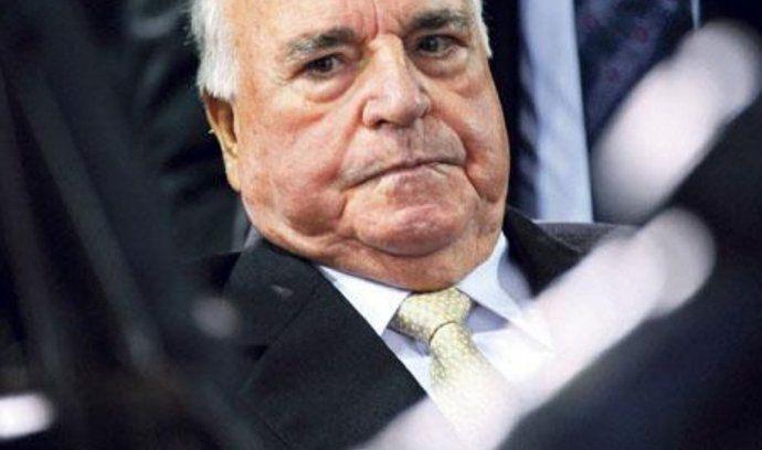 německý exkancléř Helmut Kohl