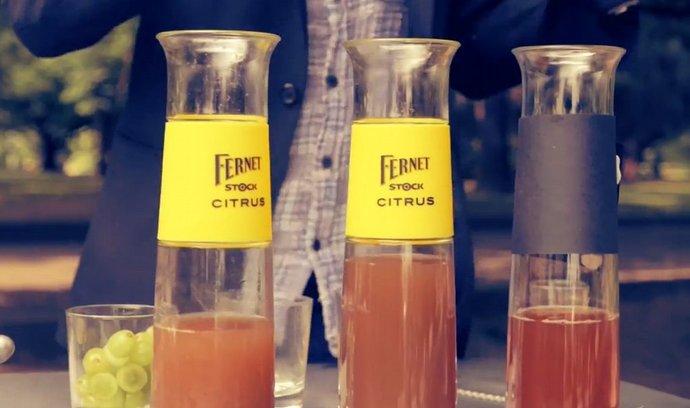 Neobvyklé podoby Fernetu Citrus - v míchaných nápojích